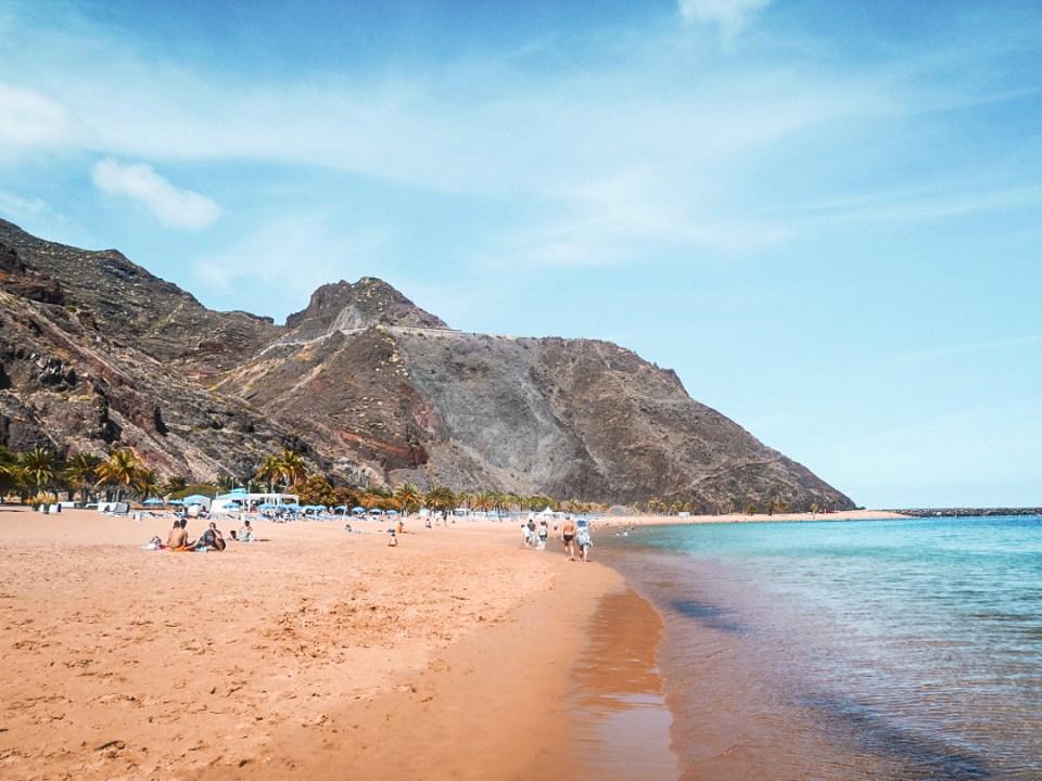 Plage de las Teresitas Tenerife