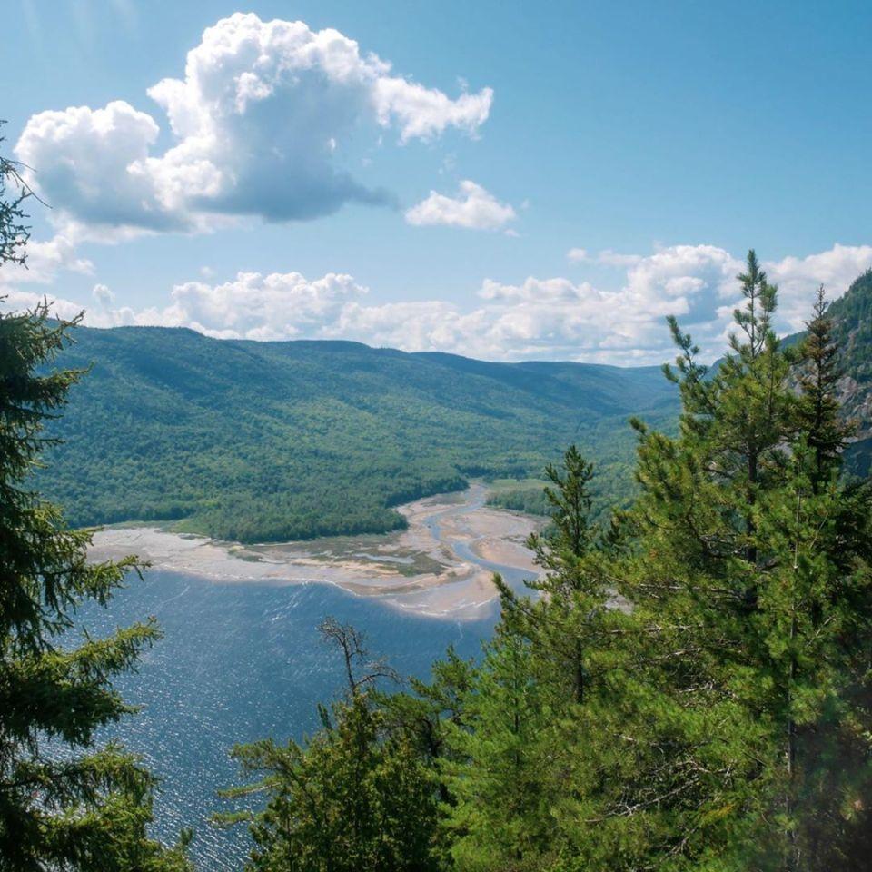 Parc du Fjord de Saguenay, randonnée de la statue
