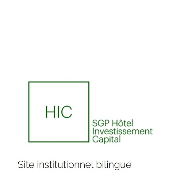 Site internet institutionnel HIC
