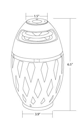 wildfire bluetooth speaker 1