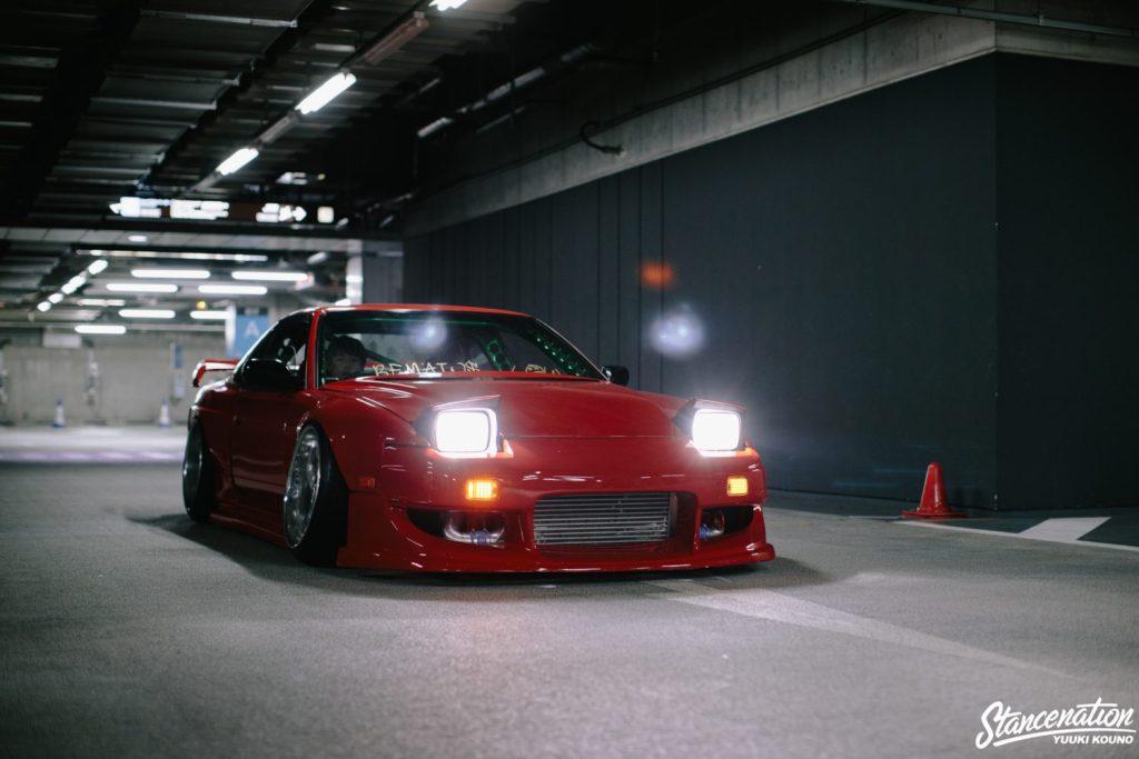 Быстрая стенс машина настоящего авангардиста - Nissan 180SX