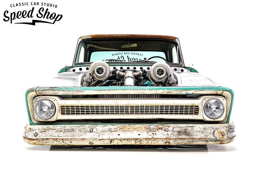 Лютый пикап на twin turbo, который вы когда-либо видели..