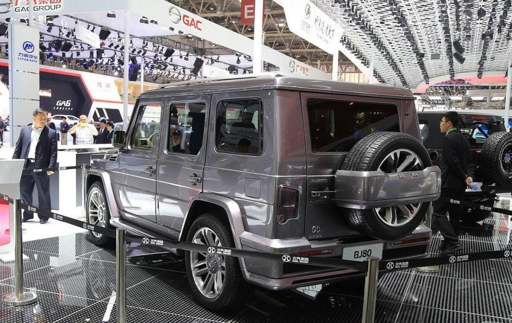 Китайцы сделали клон Гелендвагена BAIC BJ80 за 2 миллиона рублей