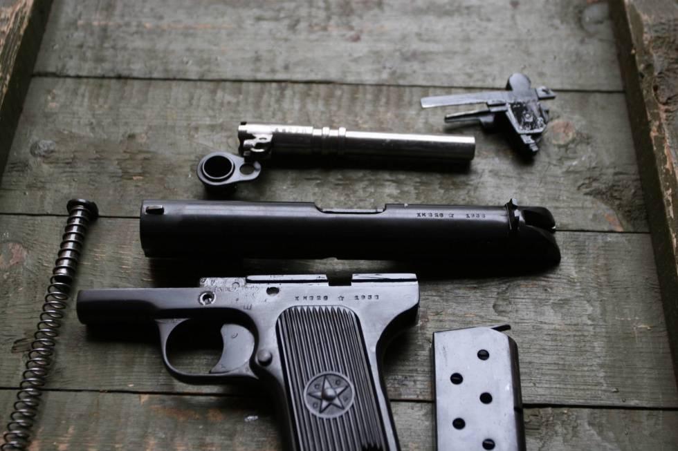 пистолет TT СХП
