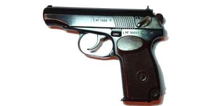 Охолощенный СХП пистолет ПМ-СХ Молот Армз (Пистолет Макарова)