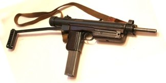 Охолощенный пистолет-пулемет SA-26 samopal