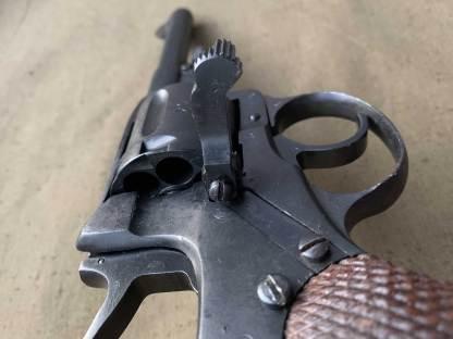 Охолощенный револьвер Наган 1919 года №НФ744