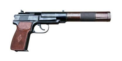 Охолощенный ПБ Пистолет бесшумный Р-413 (6П9)