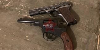 Охолощенные пистолеты Наган и ТТ 1941 года
