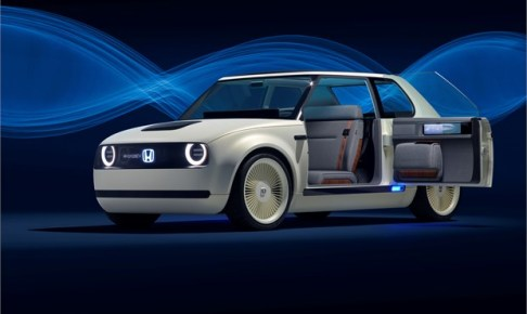 Honda Urban EV Concept unveiled at the Frankfurt Motor Show