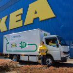 Hej neues Heim! IKEA Japan nutzt Daimler Trucks vollelektrischen FUSO eCanter für MöbelauslieferungHej new home! IKEA Japan uses Daimler Trucks' all-electric FUSO eCanter for home furnishing delivery