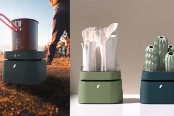 冷暖氣、充電、加熱器、 一機多用:Modul'air 展現清淨機各種室戶外應用