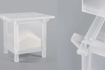 重新詮釋傳統:Kim Hyunhee 的半透明米櫃