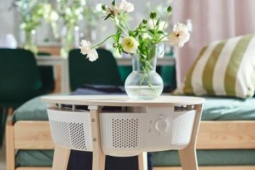 IKEA 推出與邊桌融合的空氣清淨機 Starkvind