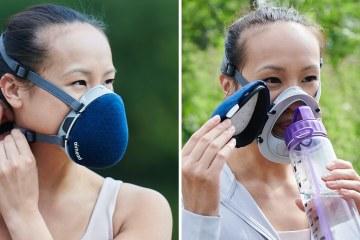 高度氣密面罩 Airhead,專為戶外運動設計,防疫也防空汙