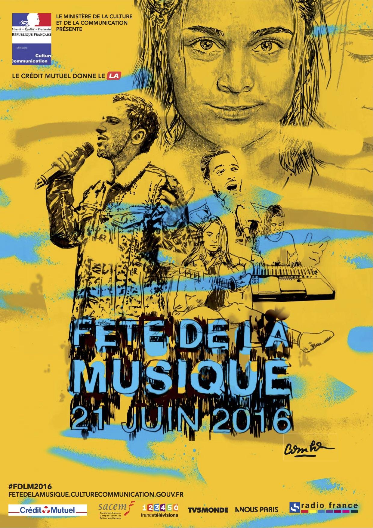 Concert Fete De La Musique 2016 : concert, musique, Fête, Musique, Toulouse, Concert, France