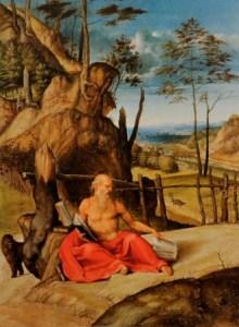 Lotto San Girolamo in meditazione, 1509