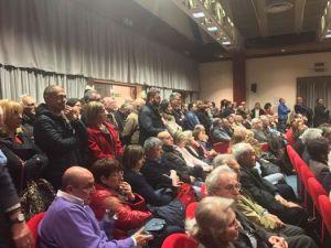 """Bagno di folla per Bersani ad Alessandria: """"Ripartiamo dal lavoro e dai diritti: la parola d'ordine è protezione per i più deboli"""" CorriereAl"""