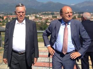 """Pichetto e Cavallera prendono le distanze da Fabbio: """"Ad Alessandria Forza Italia sostiene convintamente Cuttica di Revigliasco: aspettiamo anche Barosini e Locci"""" CorriereAl"""