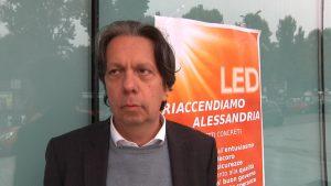 """Gianni Ivaldi candidato sindaco di LED e Riaccendiamo Alessandria: """"Un progetto per la città, oltre le dispute del passato"""" CorriereAl"""