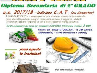 Copia di Aperte le iscrizione per il nuovo corso serale C.a.t. del Nervi-Fermi CorriereAl 5