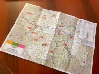 """Nasce la nuova cartina turistica del Monferrato: """"Un notevole sforzo per mostrare l'offerta del Monferrato"""" CorriereAl"""