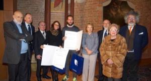 Ai giornalisti Massone, Prato e Grisieri il Premio Franco Marchiaro: ospite della cerimonia Carlin Petrini CorriereAl 3