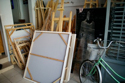 Some large format canvases look ready to purchase.