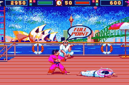 International Karate sur Amiga