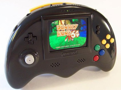 La quatrième version de la Nintendo 64 portable de Bungle