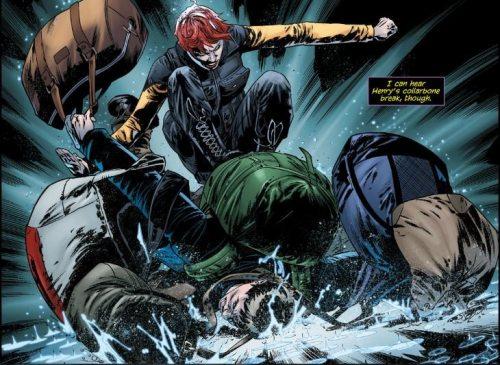 Lesestapel Batgirl 25