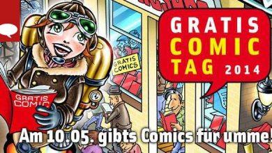 Photo of Heute: Der Gratis Comic Tag 2014!
