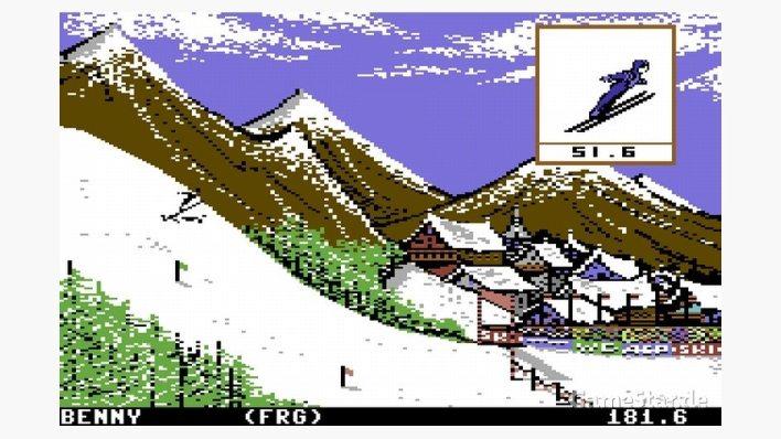 Winter Games [C64]