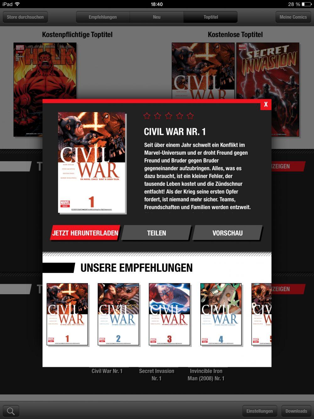 Marvel Global Comics 1