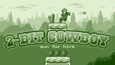 Bild von Game-News: Monochromes Spielen mit 2-bit Cowboy