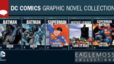 Photo of Comic-News: Die DC Comics Graphic Novel Collection bei Eaglemoss – alle Infos! (Update: Die Bände bis Nr. 31 stehen fest)