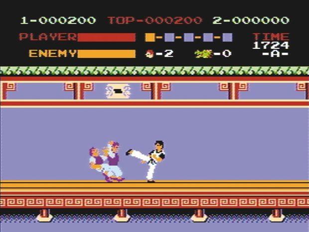 Kicks bringen weniger Punkte als Faustschläge, mir war es damals egal.