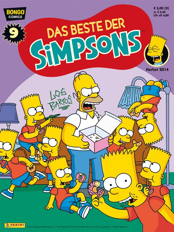 Comic news die panini neuerscheinungen der 36 kw 2014 - Simpsons info ...
