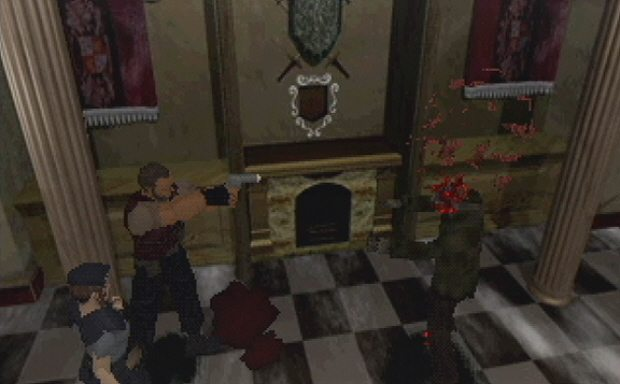 not-chris-blood-resident-evil-96-screenshot-ps1
