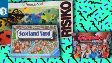 Photo of Special: Brettspiele der 80er und 90er (Risiko, Scotland Yard, Cluedo)