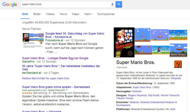 super-mario-google-easter-egg