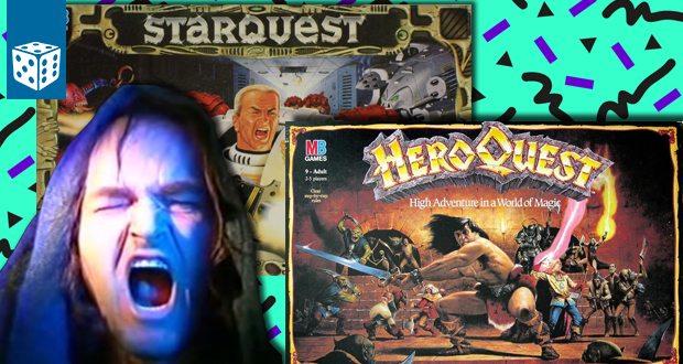 Special: Brettspiele der 80er und 90er (HeroQuest, StarQuest & Atmosfear)
