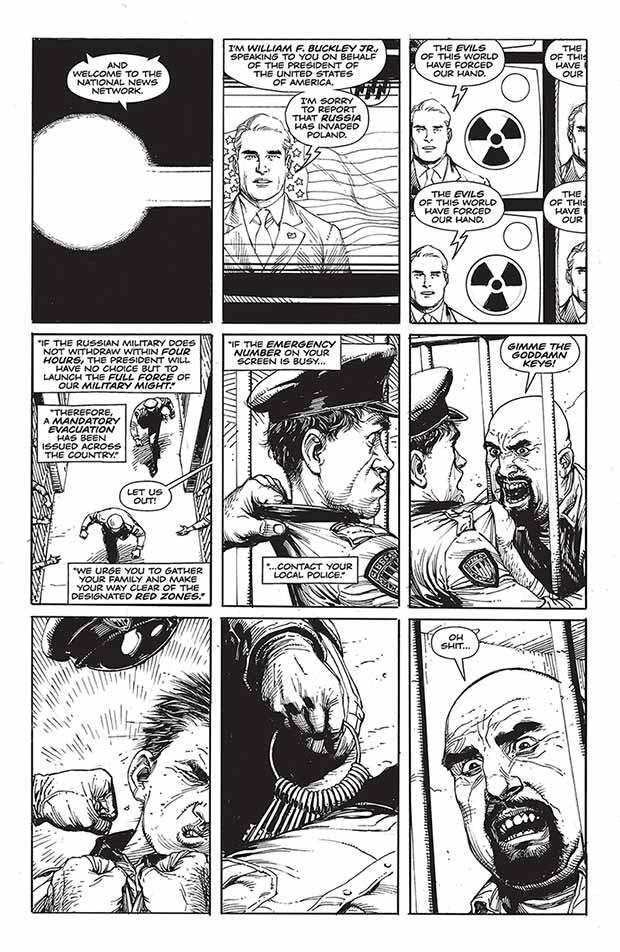 Doomsday Clock DC Watchmen