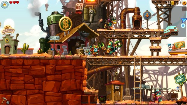 SteamWorld Dig 2 Review Test