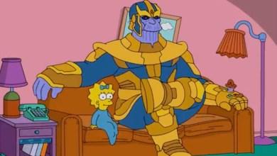 Photo of Thanos besucht in kurzem Clip die Simpsons