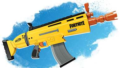 Bild von Review: NERF Fortnite AR-L Blaster
