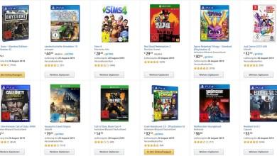 Photo of Amazon-Tipp: 3 Videospiele zum Preis von 49 Euro bzw. 79 Euro!