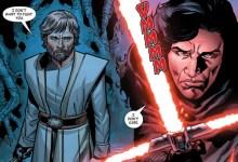Photo of Kylo Ren tritt in Comic in Luke Skywalkers Fußstapfen