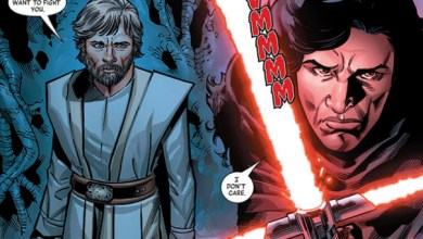 Photo of Kylo Ren tritt in Comic in Luke Skywalkers Fußstapfen