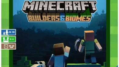 Photo of Brettspiel Minecraft Builders & Biomes erscheint im Oktober